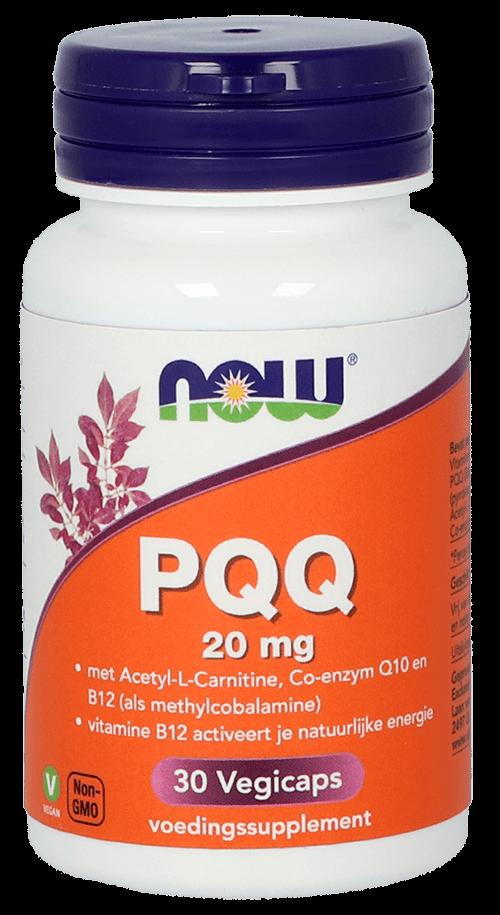 PQQ 20 mg   NOW